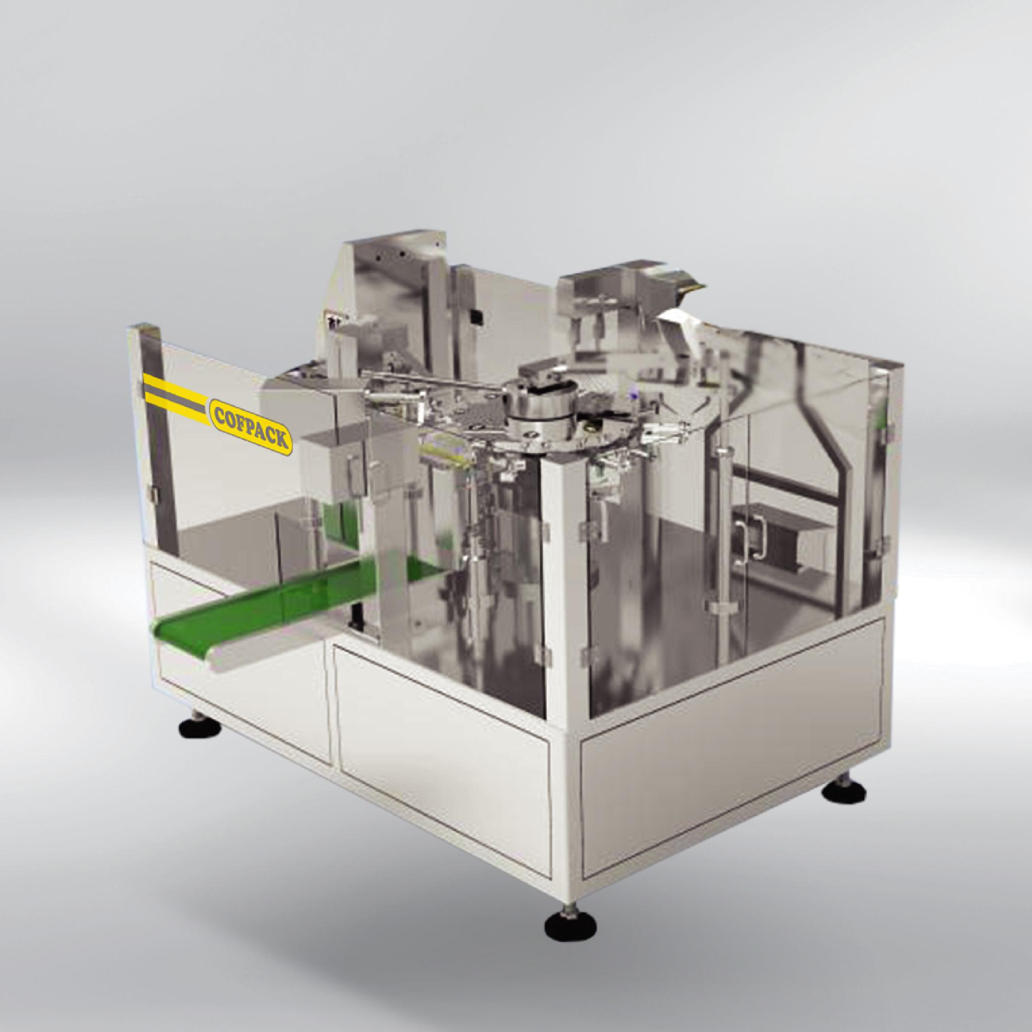 Packaging machine COFPACK DOYPACK K 8-35