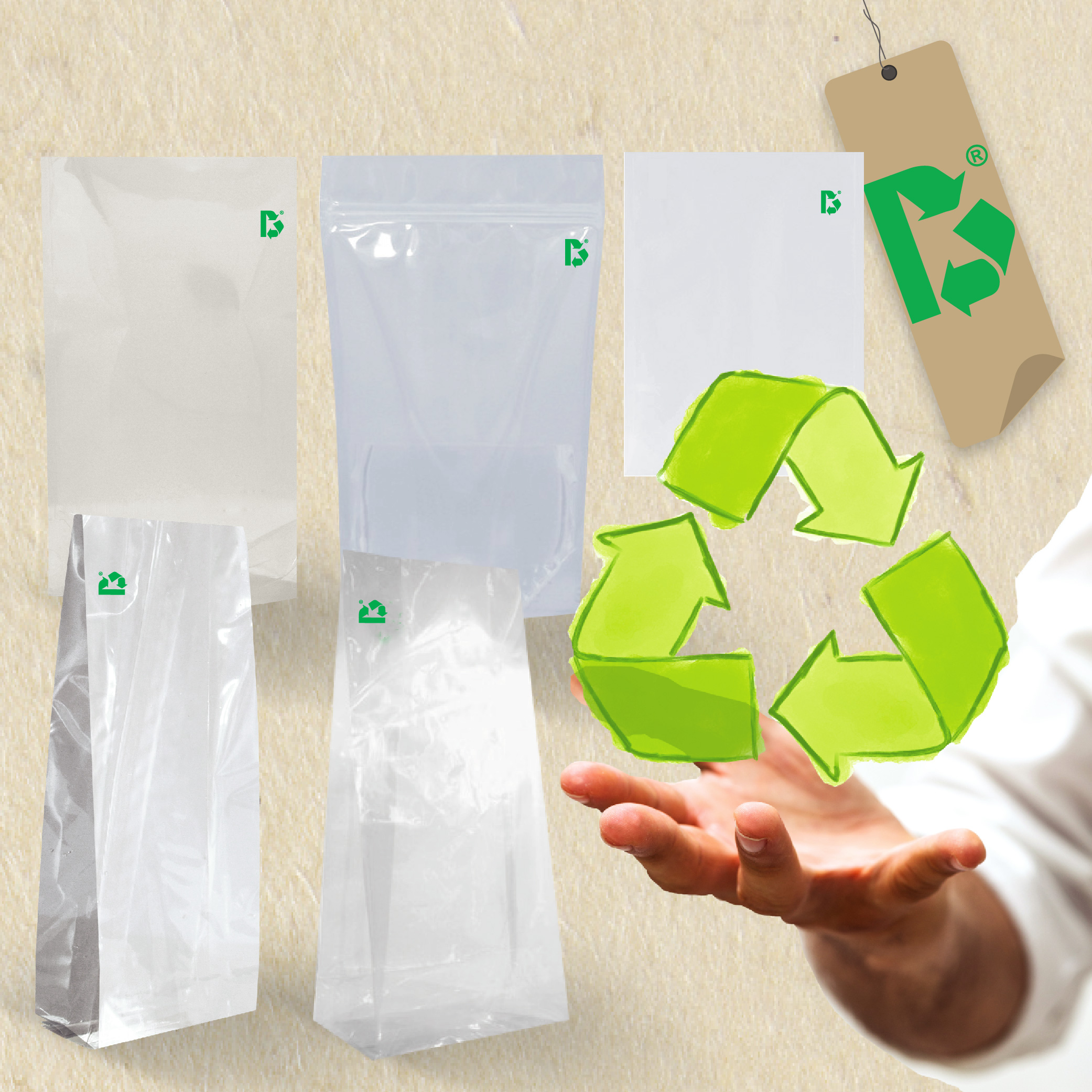 Packaging for recycling