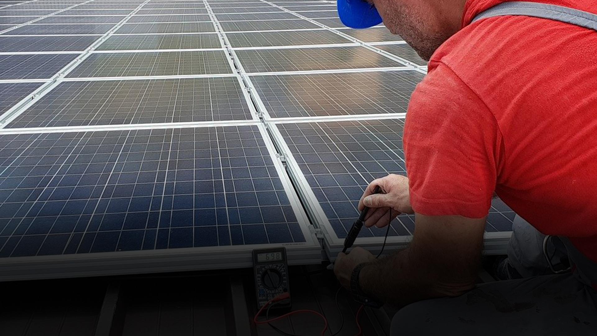 Photovoltaics - green energy!