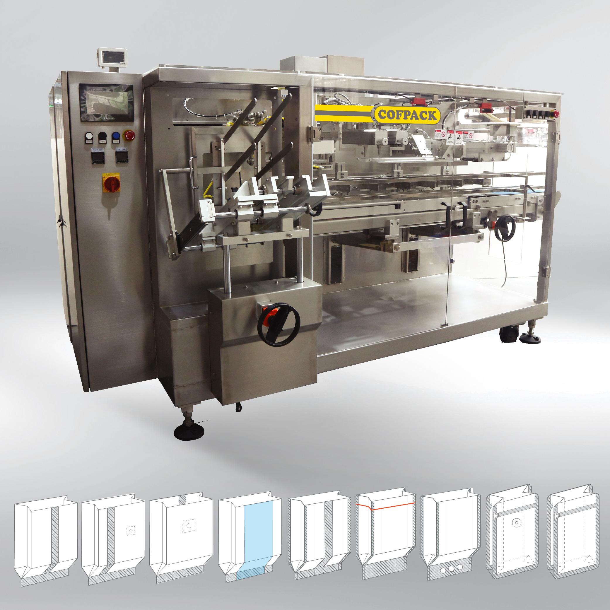 Packaging machine COFPACK FB 200