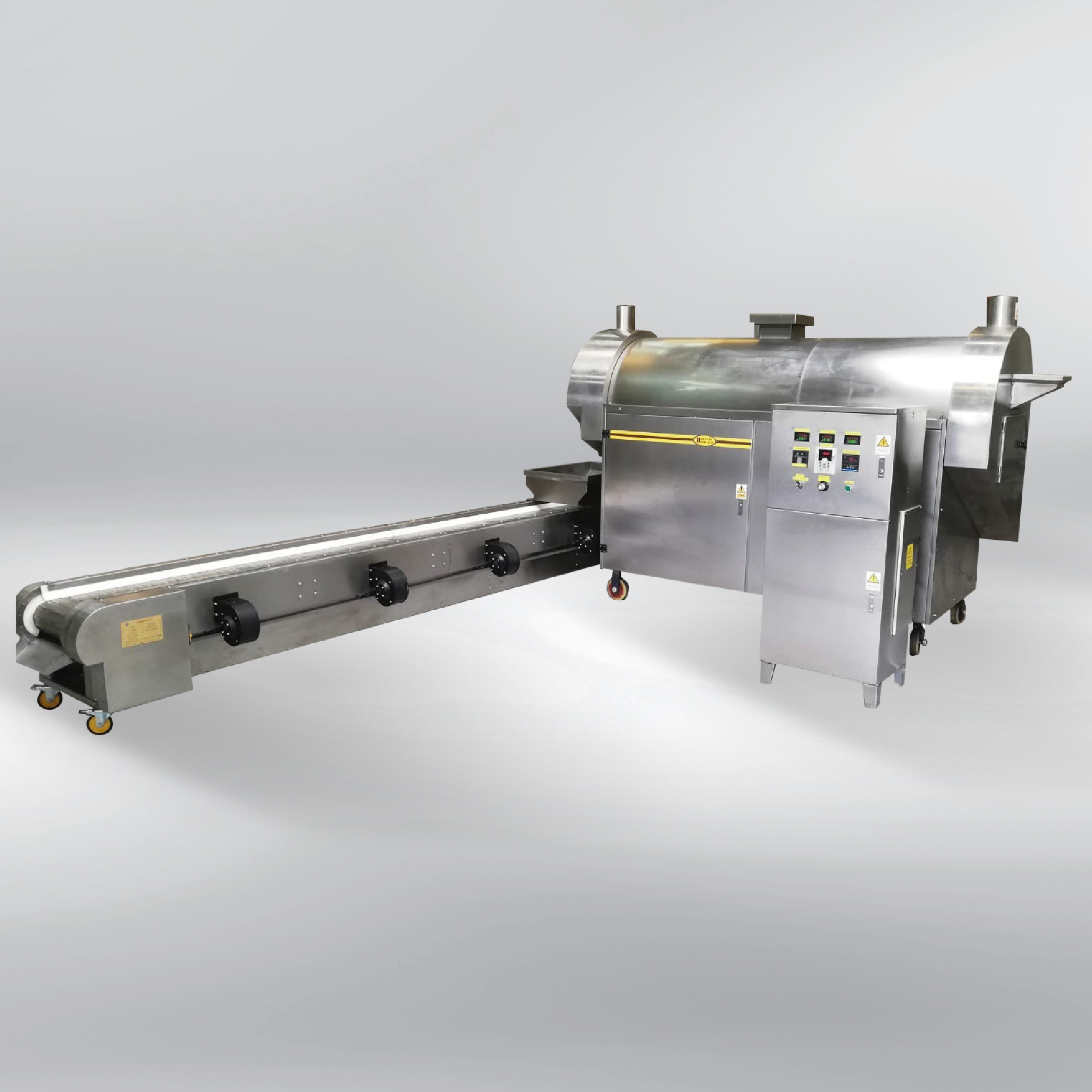 Roasting machine SBC/S 150 (continuous) + with cooling machine