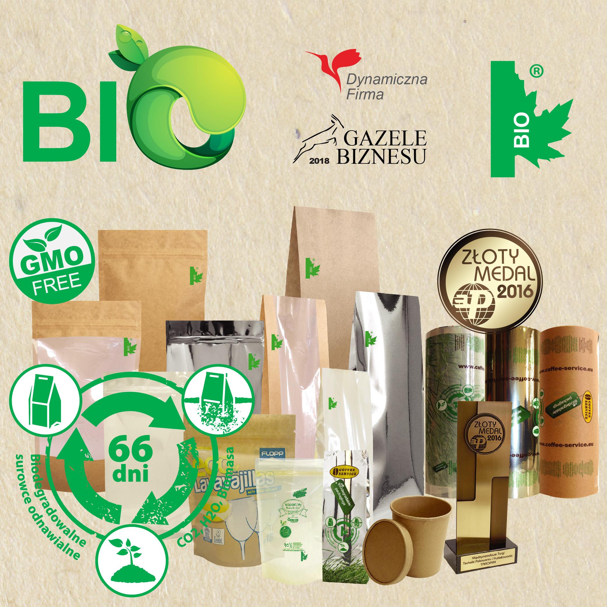 BIOdegradable packaging / Printed foils